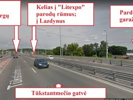 Garažas Vilniuje, Vilkpėdėje, Eigulių g.