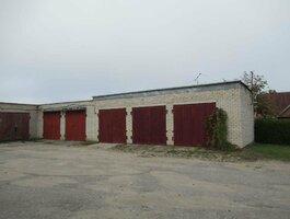 Garažas Pakruojo r. sav., Pakruojyje, Kęstučio g.