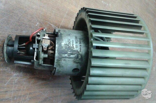 Peciuko ventiliatorius, kolektorius isdiles, reikia restauruoti