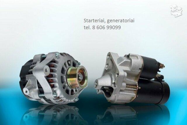 Starteris-generatorius Audi S5