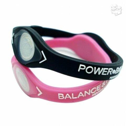 Power Balance apyrankes 2 vnt ROZINES SPALVOS