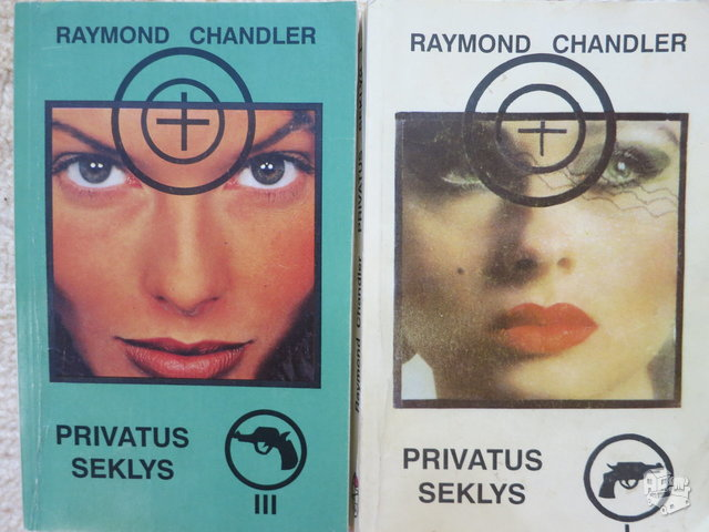 Privatus seklys. 1 ir 3 t. R. Chandler.