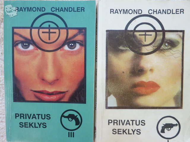 Privatus seklys. 1, 2, 3 t. R. Chandler