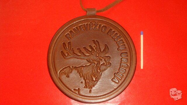 Odinis medalis.