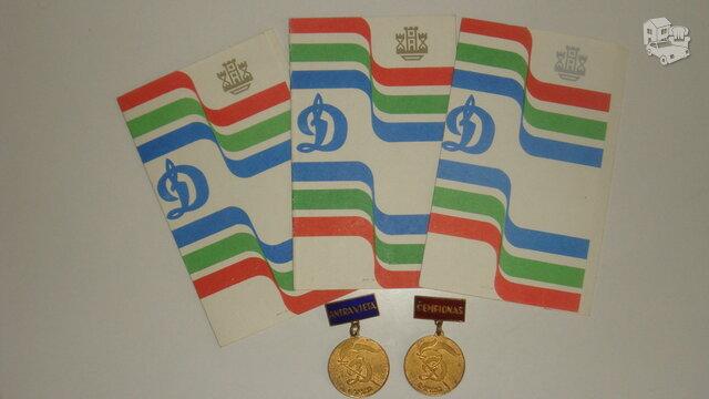 Sportiniai apdovanojimai.