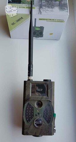 Nauja stebėjimo kamera su stipria antena