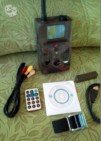 Nauja HC-550M medžioklinė stebėjimo kamera su EMAIL ir MMS