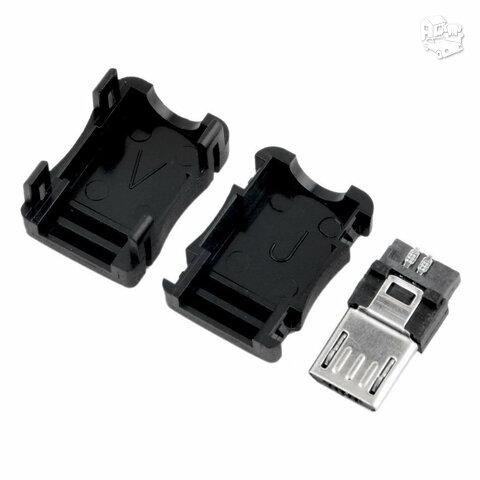 Micro USB kištukas - keitimui, 2 vnt.