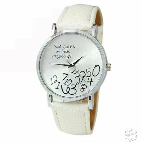 Baltas odinis laikrodis
