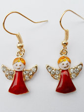 "Kalėdiniai auskarai ""Angels"""