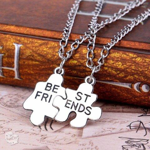 Kaklo papuošalas Best Friends Puzzle
