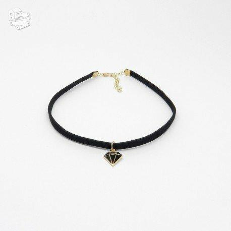 Chokeris - kaklo papuošalas BLACK DIAMOND