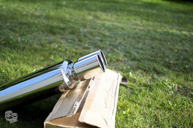 MUFFLEX performance bakelis su dvigubu antgaliu