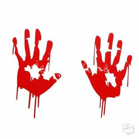 Bloody hands - Lipdukai