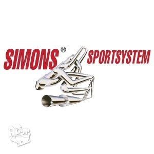 Simons 76mm www.sportinisduslintuvas.lt rezonatoriai / bakeliai