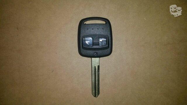 Subaru automobiliu rakto korpusas