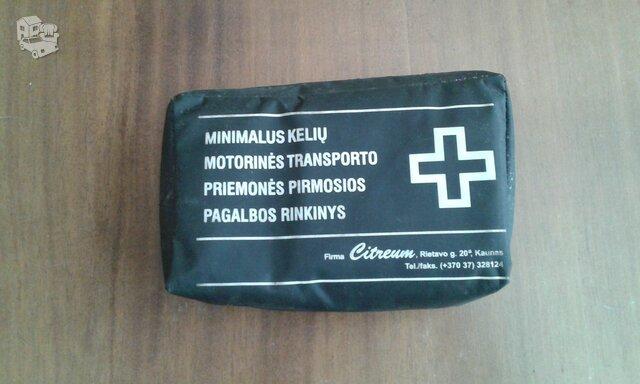 Minimalios medicinines pagalbos vaistinele