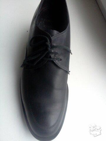 Bateliai odiniai juodos spalvos