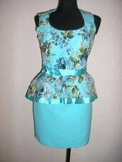 Tobula nauja peplum suknele