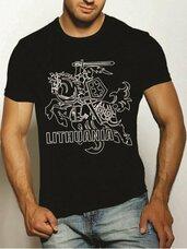 Vyriški marškineliai Lithuania Vytis su dėžute