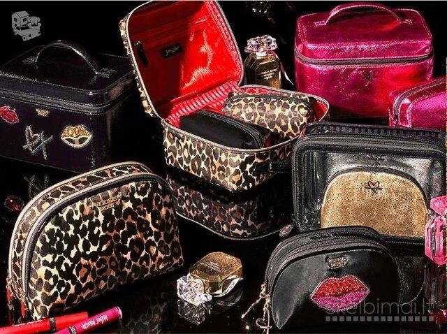 Victoria's Secret kosmetinės, piniginės, rankinės