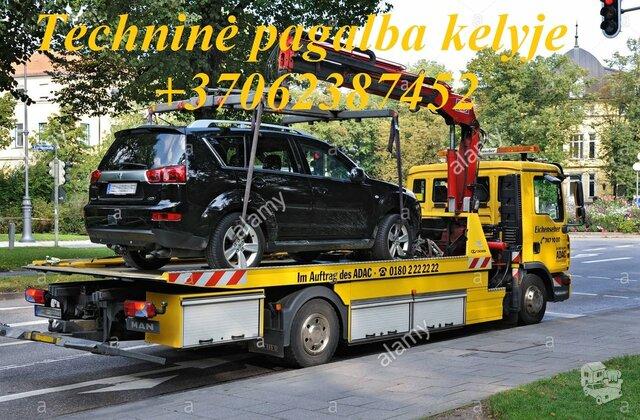 Tralas Technine pagalba kelyje Alytuje Techninė pagalba 20 euru