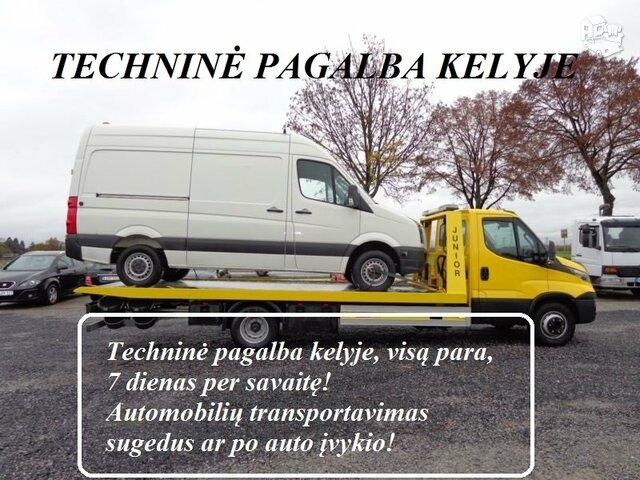 Priekabų Nuoma, Traliukų Nuoma, Techninė pagalba kelyje www