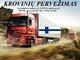 Skubių krovinių/siuntų gabenimas transportu į/iš Suomijos /