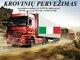 Skubių krovinių/siuntų gabenimas transportu į/iš Italijos /