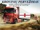 Skubių krovinių/siuntų gabenimas transportu į/iš Anglijos /