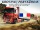 Skubių krovinių/siuntų gabenimas transportu į/iš Prancūzijos/