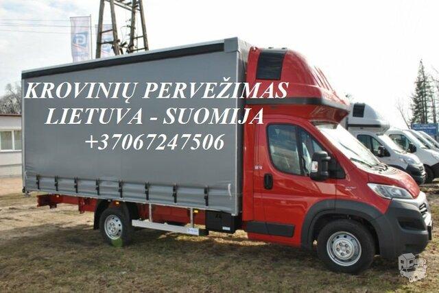 Tarptautiniai perkraustymai Lietuva-SUOMIJA-Lietuva
