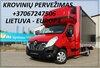 Teikiame pervežimo ir perkraustymo paslaugas Lietuvoje ir EU