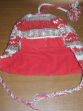 Šilta kepurė mergaitei