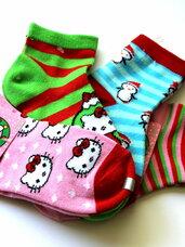"""Naujos """"Heloo Kitty"""" kojinės mergaitėms"""