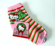 """Kalėdinės kojinės mergaitėms """"HELLO KITTY"""""""