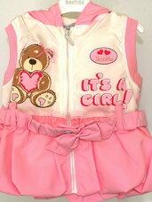 Suknelės-tunikos kūdikiams. Mergaitėms nuo gimimo iki 1 metukų.