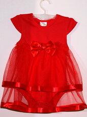 Puošnios suknelės-smėlinukai raudonos spalvos
