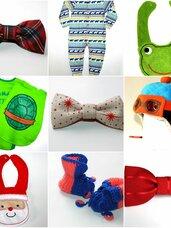 Kalėdiniai drabužėliai ir aksesuarai kūdikiams!