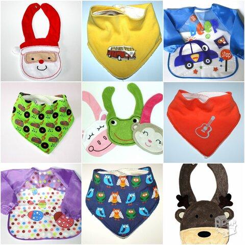 Seilinukai ir kaklaskarės kūdikiams-dovanos kūdikiams.
