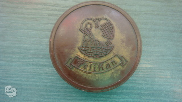 Vopkiška vintažinė Pelican dėžutė.