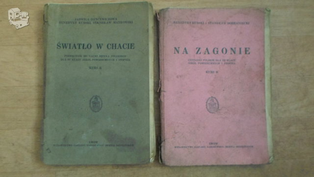 Lenkiskos mokyklines knygos.