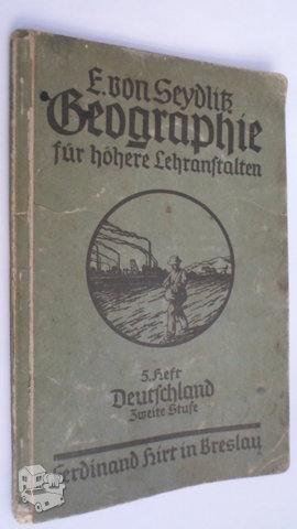 Geografija.1924m.vokietija.