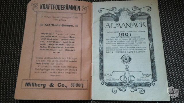 Almanahas 1907m
