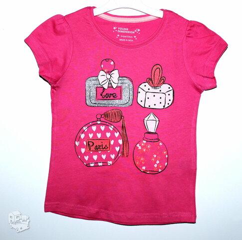 Vasariški marškinėliai, maikutės mergaitėms