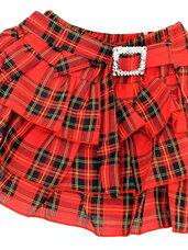 Ryškūs pūsti sijonai mergaitėms akcinėmis kainomis