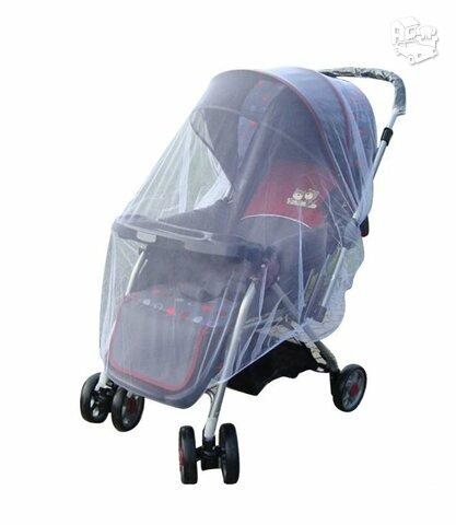 Apsauga nuo uodų vežimėliui
