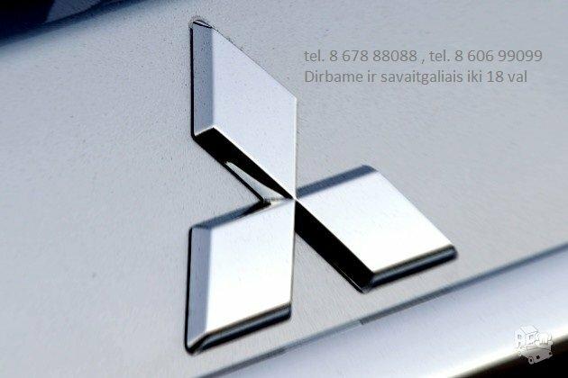 Mitsubishi Dalimis Naudotos Mitsubishi Dalys