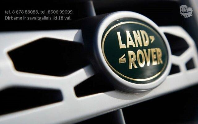 LAND ROVER autodalys Naudotos Land Rover Detales