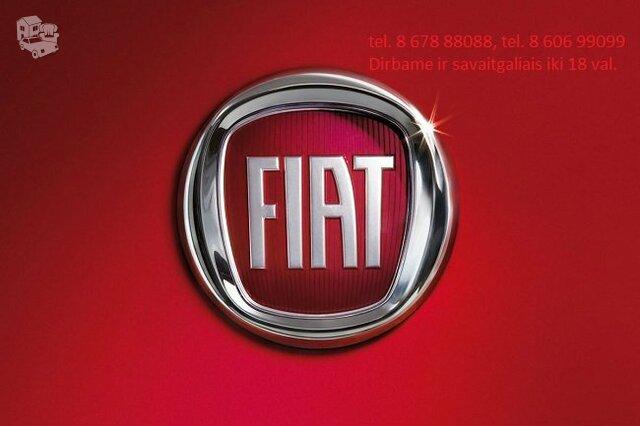 Fiat Dalimis Naudotos Fiat Dalys